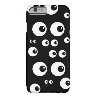Svart - I som håller ögonen på dig roligt fodral Barely There iPhone 6 Fodral