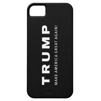 SVART iphone case för TRUMF 2016 iPhone 5 Hud