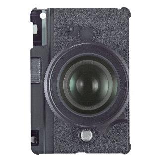 Svart kamera iPad mini mobil fodral