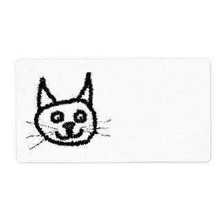 Svart katt fraktsedel