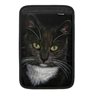 Svart katt MacBook air sleeve