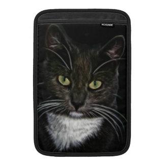 Svart katt MacBook sleeves