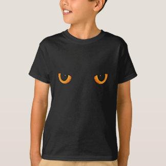 Svart katt-/panterögon tshirts