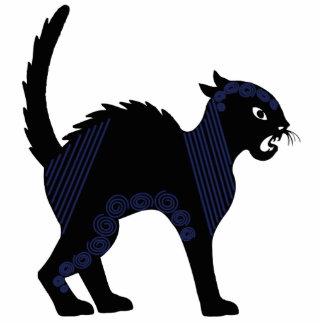 Svart katt - prydnadskulptur