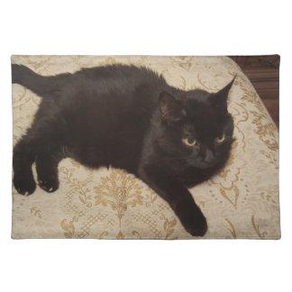 Svart katt Roxie Bordstablett