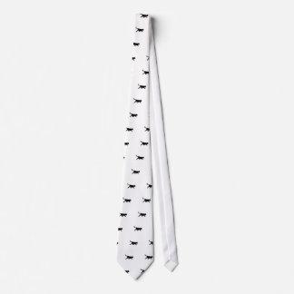 Svart katt slips