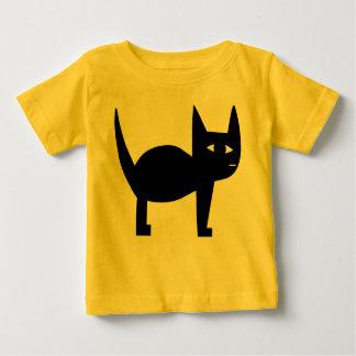Svart katt t-shirts