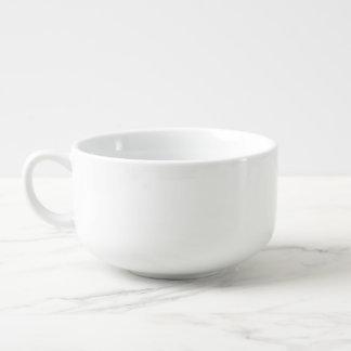 Svart katt mugg för soppa