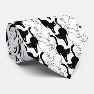 Svart kattfredag slips