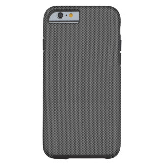Svart kolfiber baserar tough iPhone 6 case