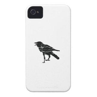 Svart kråka iPhone 4 case
