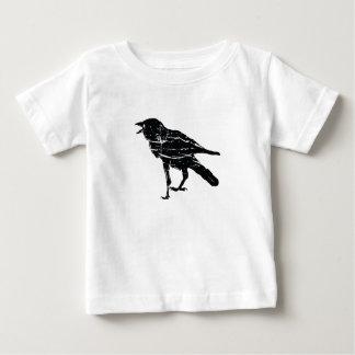 Svart kråka t-shirts