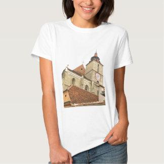 Svart kyrka i Brasov, rumänien T Shirt