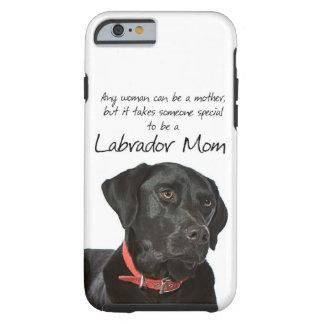 Svart lab fodral för mammaiPhone 6 Tough iPhone 6 Skal