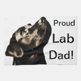 Svart Labrador för fantastisk Retriever Kökshandduk