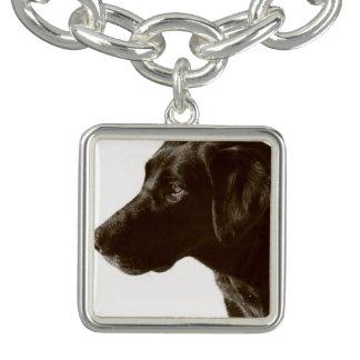 Svart Labrador Retriever Armband