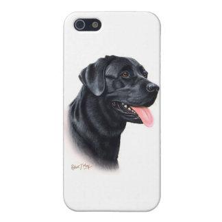 Svart Labrador Retriever iPhone 5 Hud