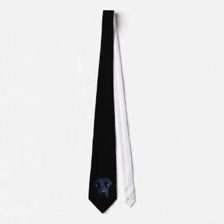 Svart labrador slips