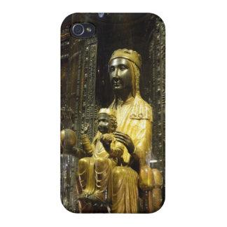 svart madonna montserrat iPhone 4 cases