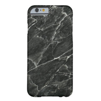 Svart marmor barely there iPhone 6 fodral