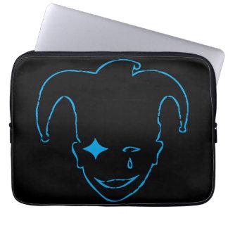 Svart och blått MTJ Laptop Sleeve