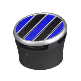 Svart och blåttBumpster högtalare