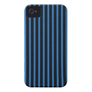 Svart- och blåttrandar Case-Mate iPhone 4 skydd