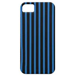 Svart- och blåttrandar iPhone 5 Case-Mate skydd