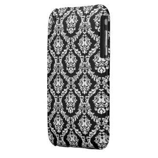 Svart och fodral för WhiteDamask designblackberry Case-Mate iPhone 3 Cases