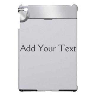 Svart- och grå färgRearviewspegel på grå färg iPad Mini Skydd