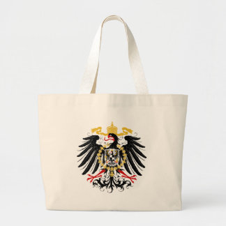 Svart och guld för Prussian örn röd Jumbo Tygkasse