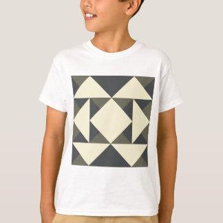 Svart och guld- trianglar tröjor