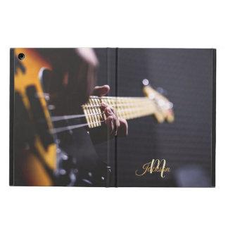 Svart och orange elektrisk gitarrMonogram iPad Air Skydd