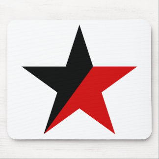 Svart och röd stjärnaAnarcho-Syndicalism anarkism Musmatta