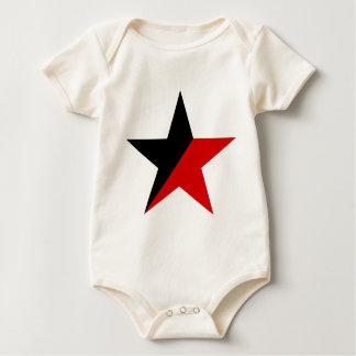 Svart och röd stjärnaAnarcho-Syndicalism anarkism Sparkdräkt