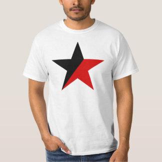 Svart och röd stjärnaAnarcho-Syndicalism anarkism Tee