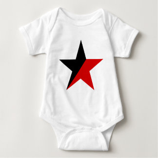 Svart och röd stjärnaAnarcho-Syndicalism anarkism Tee Shirt