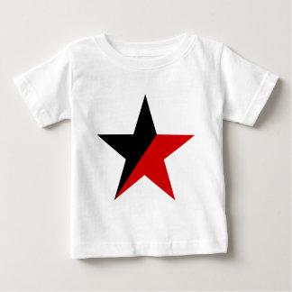 Svart och röd stjärnaAnarcho-Syndicalism anarkism Tröja