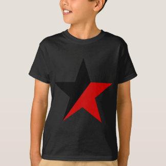 Svart och röd stjärnaAnarcho-Syndicalism anarkism Tshirts