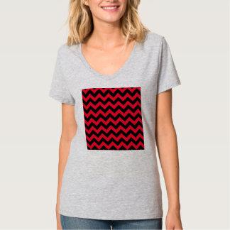 Svart och röda sparrar tröjor