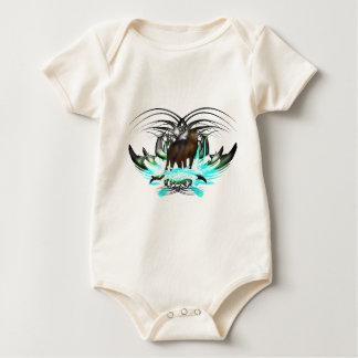 Svart panter bodies för bebisar