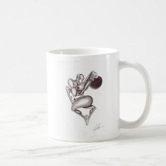 Svart passion kaffemugg