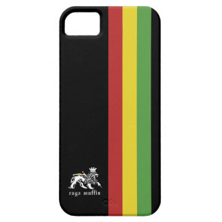 Svart Rasta randIphone 5 fodral iPhone 5 Cases