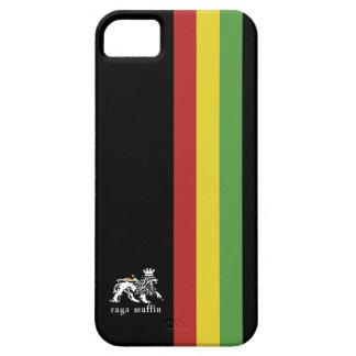 Svart Rasta randIphone 5 fodral iPhone 5 Hud