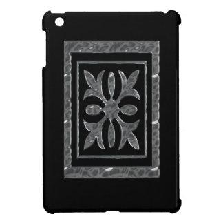Svart Retro I-Vadderar fodral iPad Mini Skal