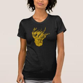 Svart skjorta för drake t-shirts
