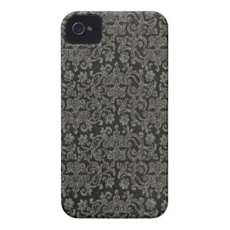 Svart snöreblackberry boldfodral Case-Mate iPhone 4 case