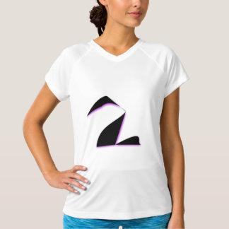 Svart svanabstrakt t-shirts