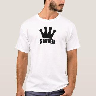 Svart) t-skjorta för strimlakrona ( t shirts