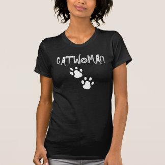 Svart T-tröja för CATWOMAN Tshirts
